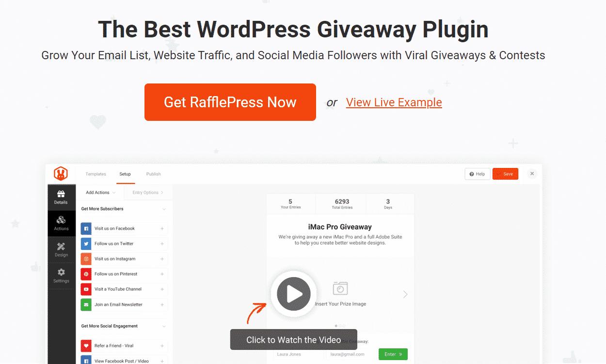 Rafflepress-WordPress-Plugin