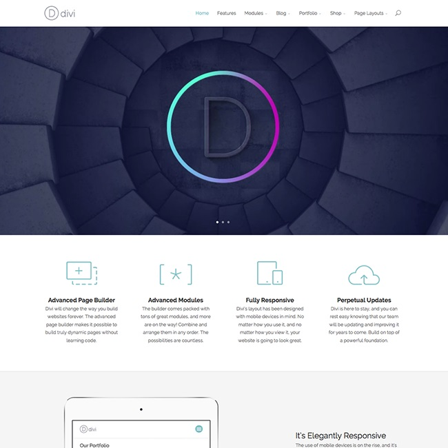 divi-one-page-wordpress-theme