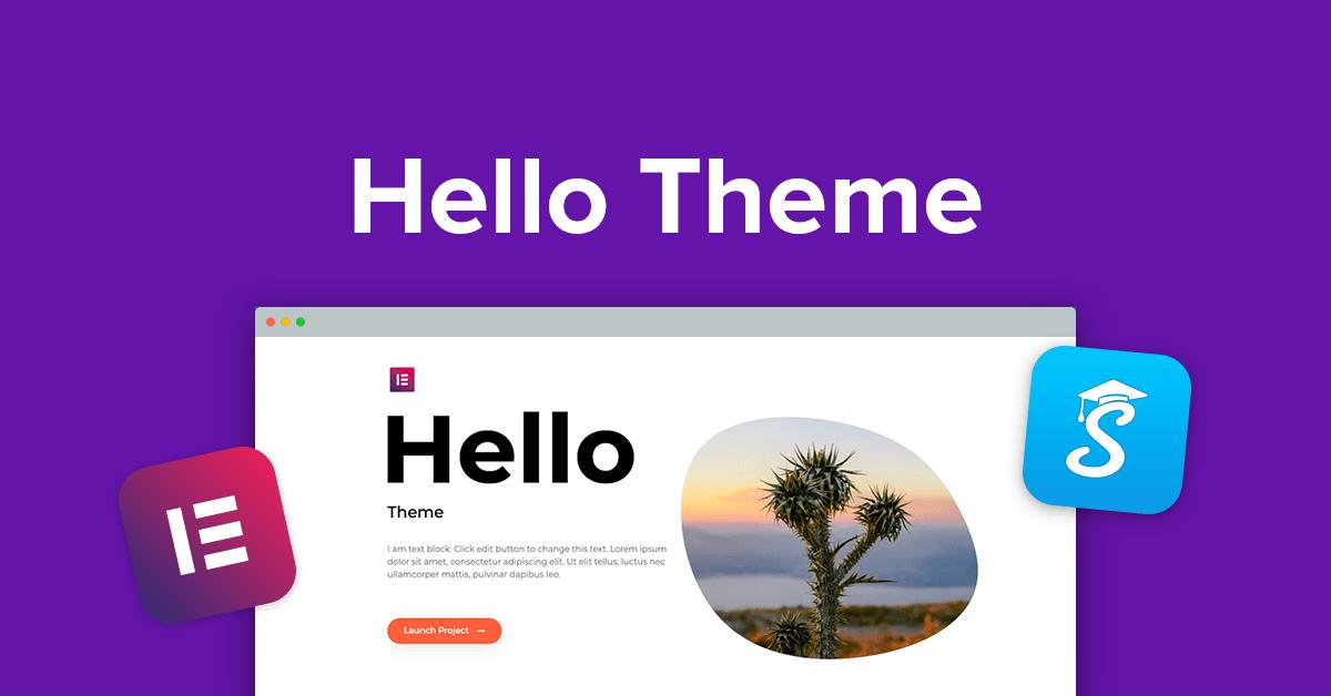 Elementor Hello + Theme Builder