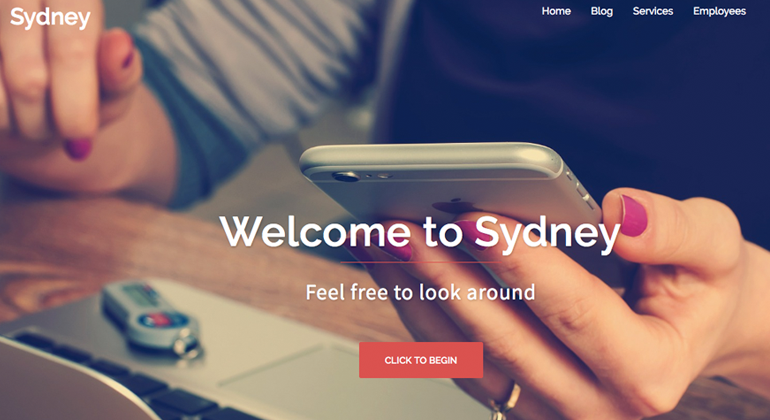 Sydney Free WordPress Theme