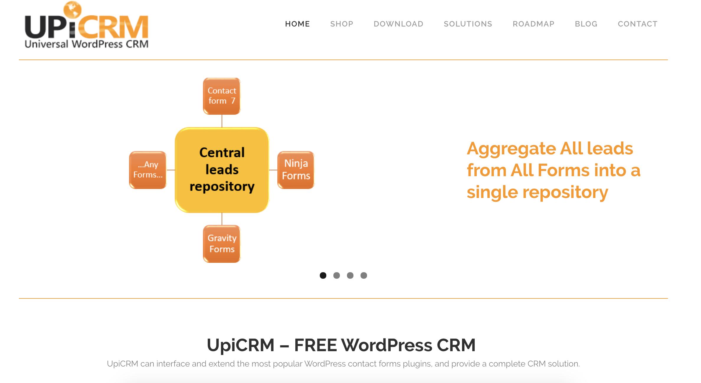 UpiCRM-wordpress