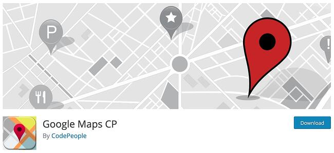 CP wordpress google maps plugins