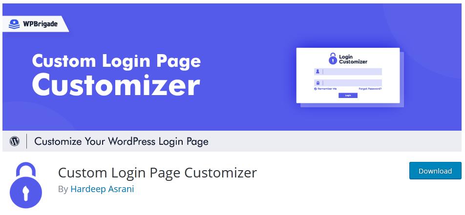 custom-login-page-customizer