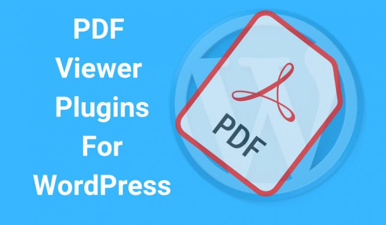 PDF Plugins for Wordpress