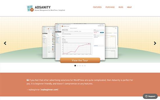 adsanity wordpress ad management plugin